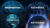 【未来科技】现代商务高品质可视化模板合集【含四套】