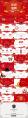 跨越2019红色喜庆年终颁奖盛典工作总结PPT示例7