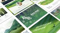 起航绿色自然(4)PPT模板【214】