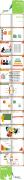 小清新说课模板示例8