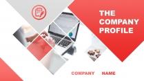 红色通透08—高端简约工作总结计划商务PPT示例2