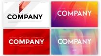 【熱切】簡約商務工作匯報PPT模板(4套合集)