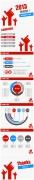 信息图风2013简洁通用PPT模板合集(3套)示例2