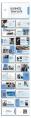 【简约商务】大气简约蓝色总结报告模板示例6