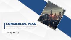 【图文】大气实用可视化商务计划书模板2