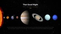 【星空诗意】人人都有宇航员的梦想&宇宙太空主题模板示例5