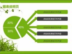 绿色清新商务PPT模板示例3