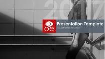 OE欧美高端大气商业计划书模板