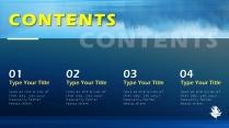 【藍色風格】簡約實用商業計劃書項目報告示例3
