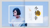 【一个册子】日系小清新画册模板