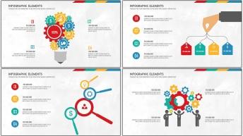扁平可視化商務信息圖表20套【第 八期】