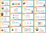 彩色簡潔通用個人競聘述職報告示例8