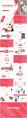 红色商务企业文化年终总结报告模板4示例8