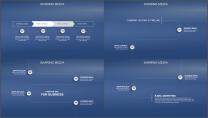 大气极简视觉差精致排版通用PPT模板示例3