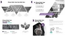 [線條視覺感]歐美創意簡約數據分析報告模板示例6