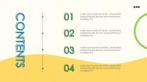 【小清新】商务汇报时尚模板示例3