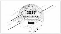 经典黑白创意点线总结报告工作计划商务策划模板01