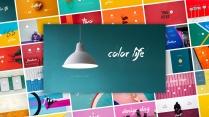 【极简主义3】上帝不小心打翻颜料盘&多彩图片杂志风