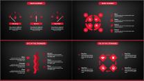 红与黑简约大气模板第三十四弹示例5