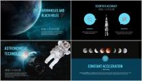 宇航员 行业 太空 科技 IT 通用PPT模板示例4