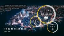 【大都市圈】大气简约城市风格商务模板示例5