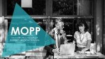 MOPP_11_高端蓝绿风格商业计划书