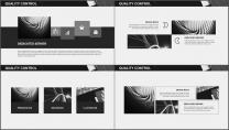 大气极简黑白配商务通用PPT模板示例6
