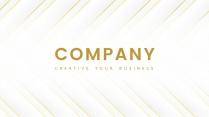 【现代简约】金色创色商务汇报工作计划模板示例2