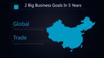 【商务深蓝】简约科技商业计划工作总结通用模板示例5