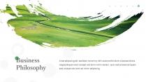 起航绿色自然(4)PPT模板【214】示例3