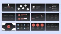 【keynote】简约流畅商务汇报模板(八套合集)示例3
