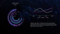 【蓝紫致炫】高端大气科技商务报告模板示例6