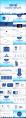 蓝色星球清新科技商务通用PPT模板示例8