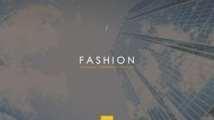 时尚创意图文排版模板