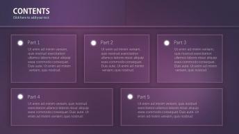 【Marshal-Y】極度精致 紫魅質感PPT示例7