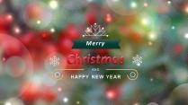 【圣诞节】暖心节日庆典模板
