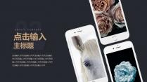【黑金】大气商务科技时尚互联网模版示例7