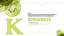 英文字母缤纷水果小清新创意原创PPT示例4