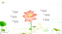 【动画】清新荷韵之绿中国风模板示例3