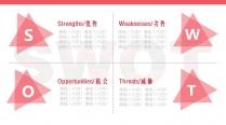 时尚商务职场简约红色玫瑰系列创意PPT模板示例6
