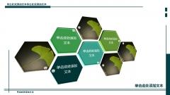 【壹弹发布】军绿色高端深度商务模版(多图表)示例6