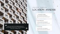 【蓝色水彩】金粉晕染艺术文化创意宣传展示提案模板示例6