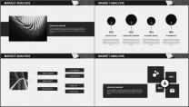 大气极简黑白配商务通用PPT模板示例4