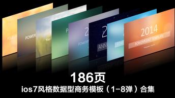 【ios7风格系列】:iOS风格主题PPT模