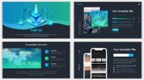 2018蓝色极简网页科技风PPT模板07示例6