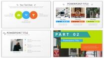 【设计感】清新简约杂志风PPT模板7示例4