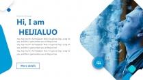 【漩涡波浪】视觉创意营销时尚立体提案大气模板示例5