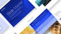 简美细腻质感商务蓝高端模板11-Keynote示例5