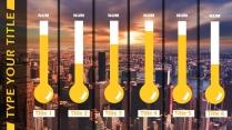 【年度报告】欧美风城市系列简约大气PPT模板示例5