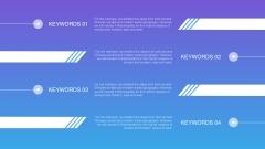 【动态keynote】精致高端商务汇报总结模板07示例7